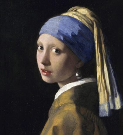 Johannes Vermeer - The Girl With A Pearl Earring Sticker