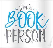 I'm a BOOK PERSON Poster