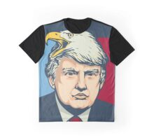 """We Shall Overcomb"" - Donald Trump Graphic T-Shirt"