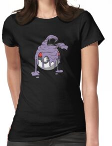 Muk your Pokeball! Womens Fitted T-Shirt