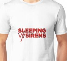 Sleeping With Sirens Logo Roses Unisex T-Shirt