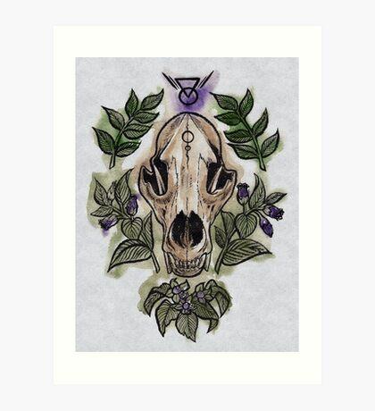 Deadly Art Print