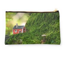 Red House in the Woods  Studio Pouch