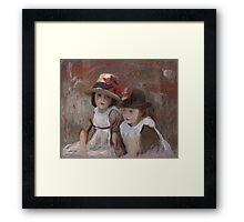 John Singer Sargent - Village Children  Framed Print