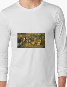John William Waterhouse - The Naiad  Long Sleeve T-Shirt