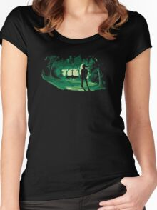 The Master Sword Women's Fitted Scoop T-Shirt