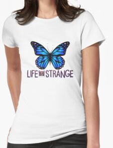 Life is Strange 3 - Blue butterfly Womens Fitted T-Shirt