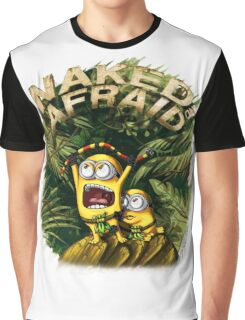 Naked and Afraid Minions Graphic T-Shirt