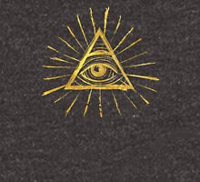 All Seeing Eye - Gold Edition Unisex T-Shirt