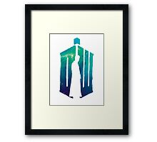 Dr Who - 10th  Framed Print