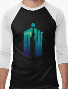 Dr Who - 10th  Men's Baseball ¾ T-Shirt