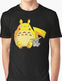 Totorotchu & Pikaro  Graphic T-Shirt