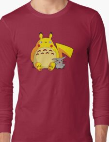 Totorotchu & Pikaro  Long Sleeve T-Shirt