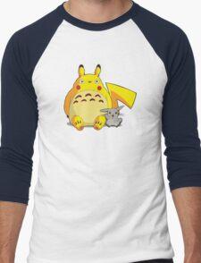 Totorotchu & Pikaro  Men's Baseball ¾ T-Shirt