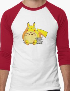 Totorotchu & Pikaro  Men's Baseball ¾ T-Shirt