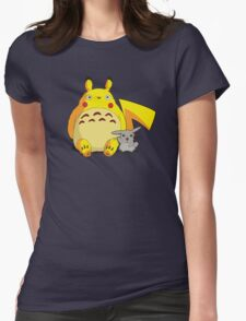 Totorotchu & Pikaro  Womens Fitted T-Shirt