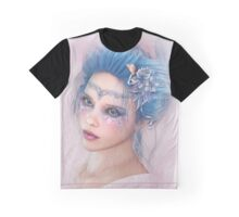 Lady in Spring Graphic T-Shirt