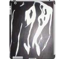 Man sexy back ass black white original modern art iPad Case/Skin