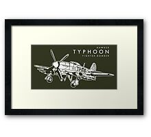 Hawker Typhoon Fighter-bomber Framed Print