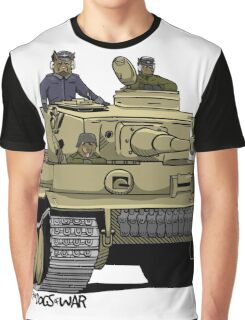 The Dogs of War: Tiger Tank Graphic T-Shirt