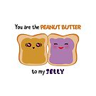 Peanut butter to Jelly by skorretto