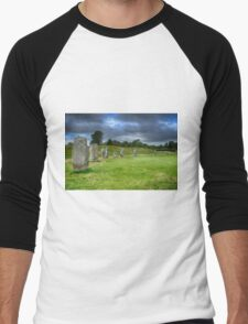 Avebury Stone Circle Men's Baseball ¾ T-Shirt