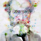 WILLIAM JAMES - watercolor portrait by lautir