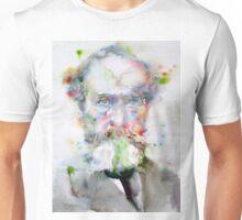 WILLIAM JAMES - watercolor portrait Unisex T-Shirt