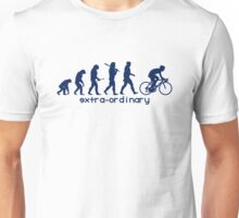 Cycling Evolution blue Unisex T-Shirt
