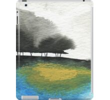 Watercolour Landscape with Trees iPad Case/Skin
