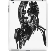 Abstract portraits drawings iPad Case/Skin