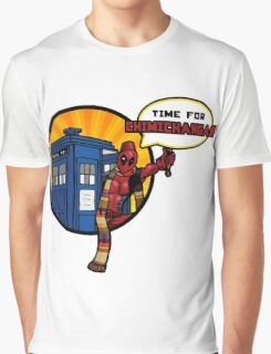 Time for Chimichangas!!! Graphic T-Shirt