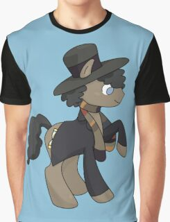 4th Doctor Whooves Graphic T-Shirt
