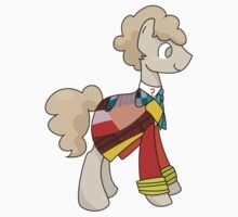6th Doctor Whooves Kids Tee