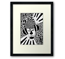 The music creator Framed Print
