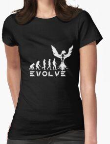 Evolution of X-Man - Phoenix Womens Fitted T-Shirt