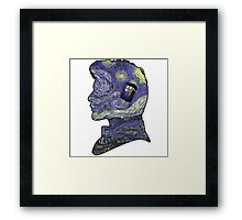doctor who van gogh Framed Print