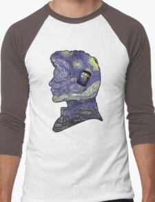 doctor who van gogh Men's Baseball ¾ T-Shirt