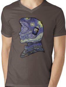 doctor who van gogh Mens V-Neck T-Shirt