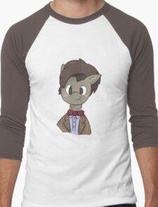 11th Doctor whooves Men's Baseball ¾ T-Shirt