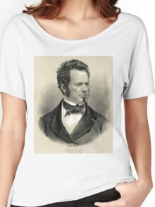 Edwin Forrest - 1860 - Currier & Ives Women's Relaxed Fit T-Shirt