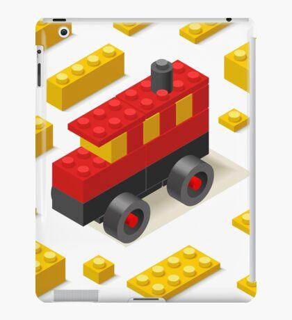 Toy Block Bus Games Isometric iPad Case/Skin