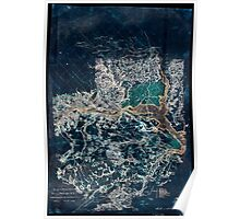 261 Surveys of the military defences vicinity of Washington DC Inverted Poster