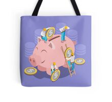 Saving Money Concept Tote Bag