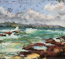 Spoonies Bay, Bonny Hills by Terri Maddock