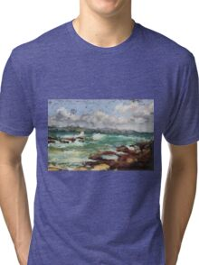 Spoonies Bay, Bonny Hills Tri-blend T-Shirt