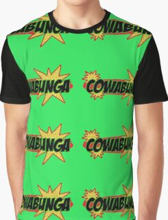 Cowabunga! - Mutant Ninja Graphic T-Shirt