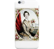 Eliza Jane - 1847 - Currier & Ives iPhone Case/Skin
