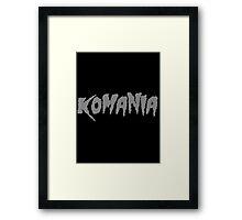 KO-MANIA Framed Print