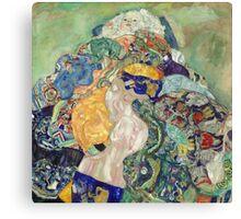 Gustav Klimt - Baby ,Cradle  Canvas Print